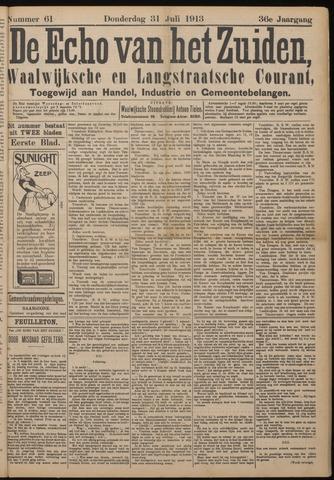Echo van het Zuiden 1913-07-31