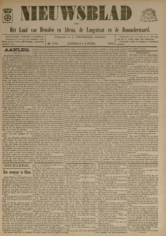Nieuwsblad het land van Heusden en Altena de Langstraat en de Bommelerwaard 1899-02-04