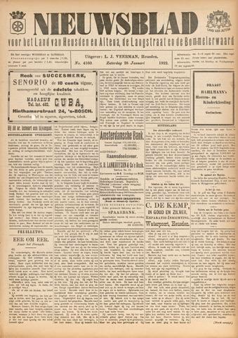 Nieuwsblad het land van Heusden en Altena de Langstraat en de Bommelerwaard 1922-01-28