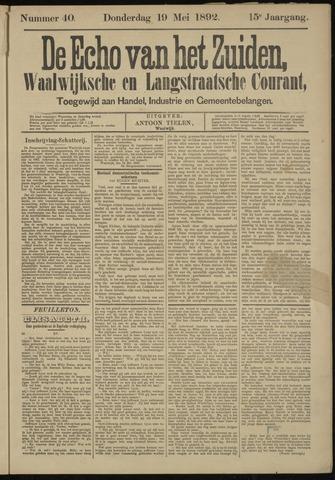 Echo van het Zuiden 1892-05-19