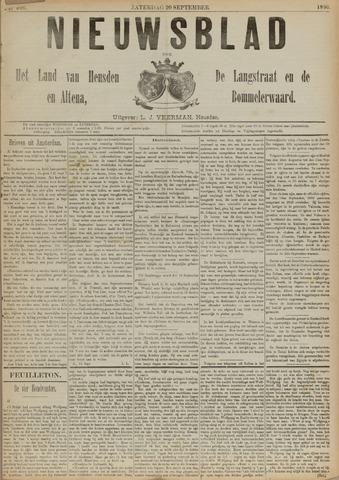 Nieuwsblad het land van Heusden en Altena de Langstraat en de Bommelerwaard 1890-09-20
