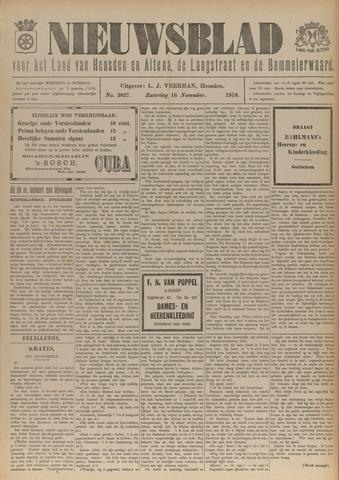 Nieuwsblad het land van Heusden en Altena de Langstraat en de Bommelerwaard 1918-11-16