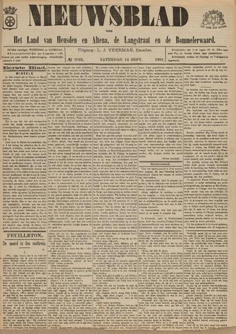 Nieuwsblad het land van Heusden en Altena de Langstraat en de Bommelerwaard 1901-09-14