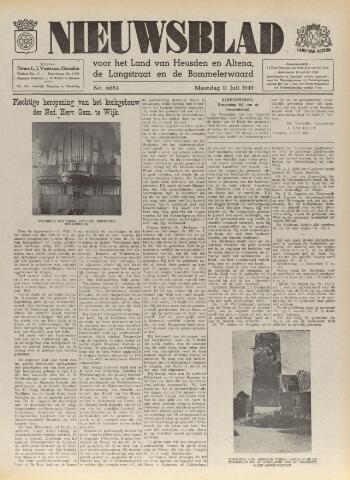 Nieuwsblad het land van Heusden en Altena de Langstraat en de Bommelerwaard 1949-07-11