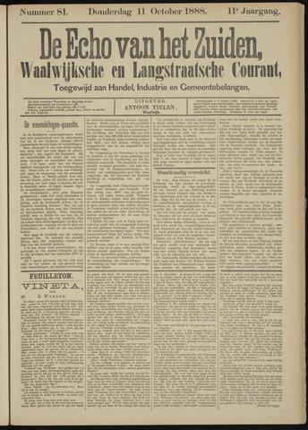Echo van het Zuiden 1888-10-11