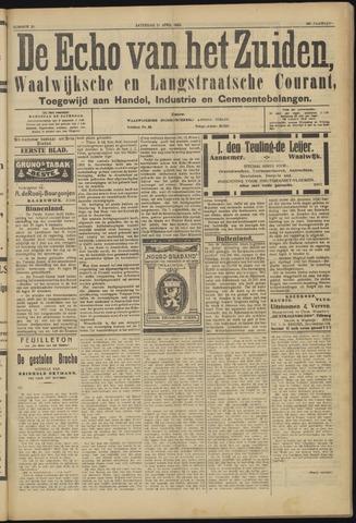 Echo van het Zuiden 1923-04-21