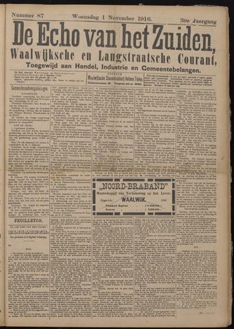 Echo van het Zuiden 1916-11-02