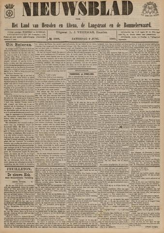 Nieuwsblad het land van Heusden en Altena de Langstraat en de Bommelerwaard 1900-06-02