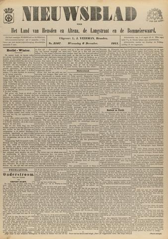 Nieuwsblad het land van Heusden en Altena de Langstraat en de Bommelerwaard 1911-12-06