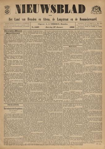 Nieuwsblad het land van Heusden en Altena de Langstraat en de Bommelerwaard 1906-01-27