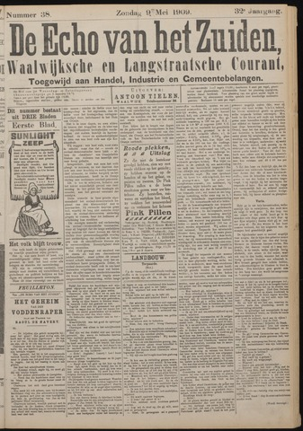 Echo van het Zuiden 1909-05-09