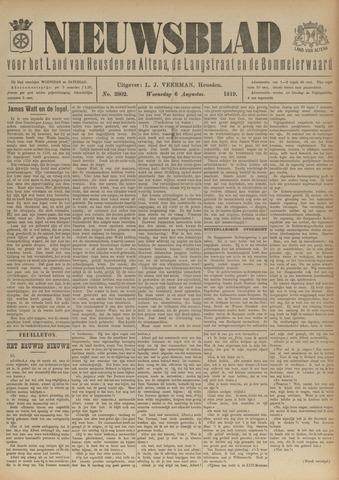 Nieuwsblad het land van Heusden en Altena de Langstraat en de Bommelerwaard 1919-08-06