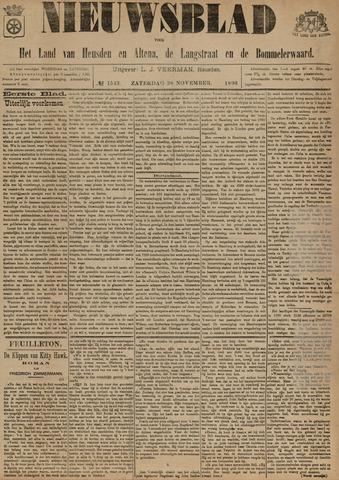 Nieuwsblad het land van Heusden en Altena de Langstraat en de Bommelerwaard 1896-11-28