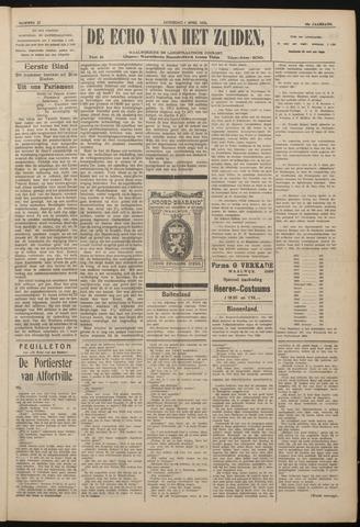 Echo van het Zuiden 1922-04-01