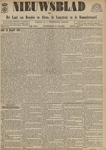Nieuwsblad het land van Heusden en Altena de Langstraat en de Bommelerwaard 1902-03-19