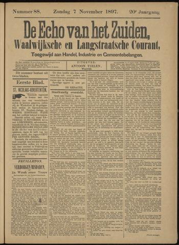 Echo van het Zuiden 1897-11-11