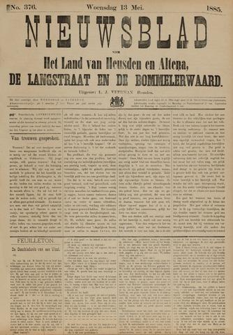 Nieuwsblad het land van Heusden en Altena de Langstraat en de Bommelerwaard 1885-05-13