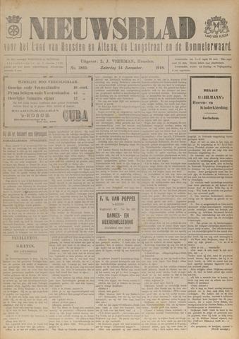 Nieuwsblad het land van Heusden en Altena de Langstraat en de Bommelerwaard 1918-12-14