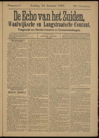 Echo van het Zuiden 1897-01-24