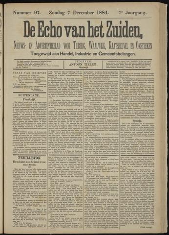 Echo van het Zuiden 1884-12-07