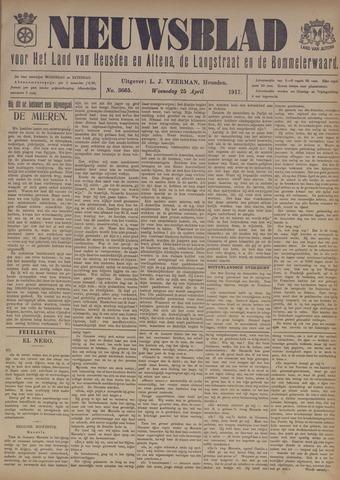 Nieuwsblad het land van Heusden en Altena de Langstraat en de Bommelerwaard 1917-04-25