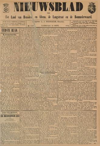 Nieuwsblad het land van Heusden en Altena de Langstraat en de Bommelerwaard 1894-09-15