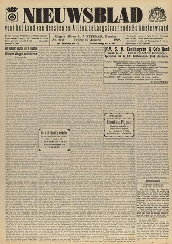 Nieuwsblad het land van Heusden en Altena de Langstraat en de Bommelerwaard 1929-08-30