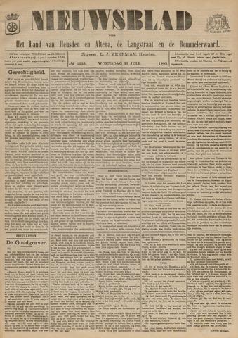 Nieuwsblad het land van Heusden en Altena de Langstraat en de Bommelerwaard 1903-07-15
