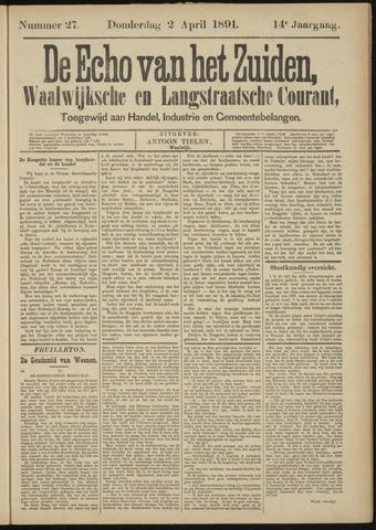 Echo van het Zuiden 1891-04-02