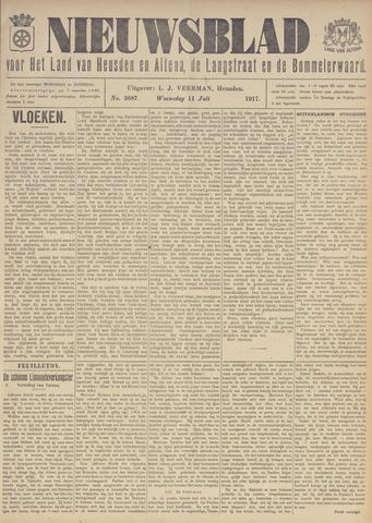 Nieuwsblad het land van Heusden en Altena de Langstraat en de Bommelerwaard 1917-07-11