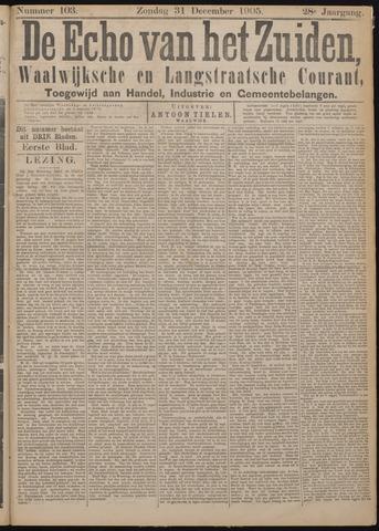 Echo van het Zuiden 1905-12-31