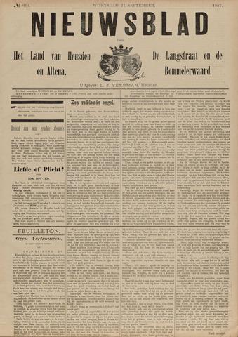 Nieuwsblad het land van Heusden en Altena de Langstraat en de Bommelerwaard 1887-09-21