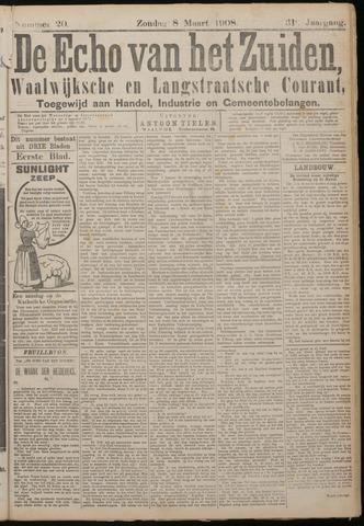 Echo van het Zuiden 1908-03-08