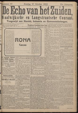Echo van het Zuiden 1912-10-27