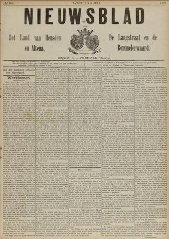 Nieuwsblad het land van Heusden en Altena de Langstraat en de Bommelerwaard 1890-07-05