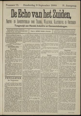 Echo van het Zuiden 1880-09-09