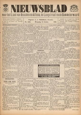 Nieuwsblad het land van Heusden en Altena de Langstraat en de Bommelerwaard 1921-10-19