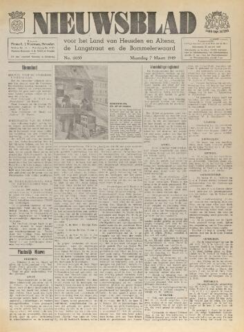 Nieuwsblad het land van Heusden en Altena de Langstraat en de Bommelerwaard 1949-03-07