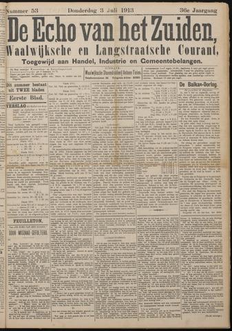 Echo van het Zuiden 1913-07-03