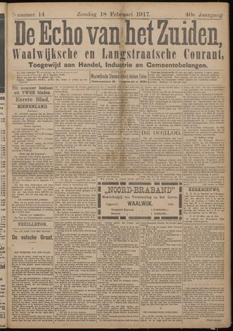 Echo van het Zuiden 1917-02-18