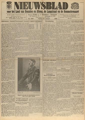 Nieuwsblad het land van Heusden en Altena de Langstraat en de Bommelerwaard 1943-01-29