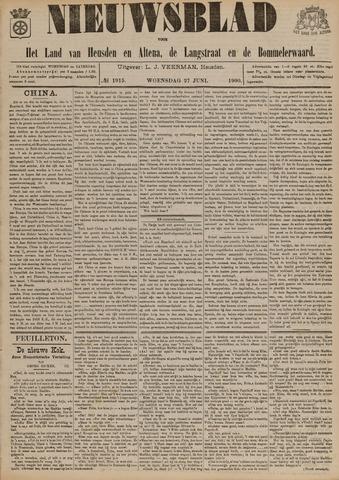 Nieuwsblad het land van Heusden en Altena de Langstraat en de Bommelerwaard 1900-06-27