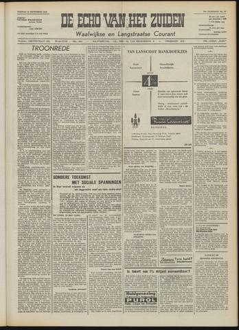 Echo van het Zuiden 1958-09-19