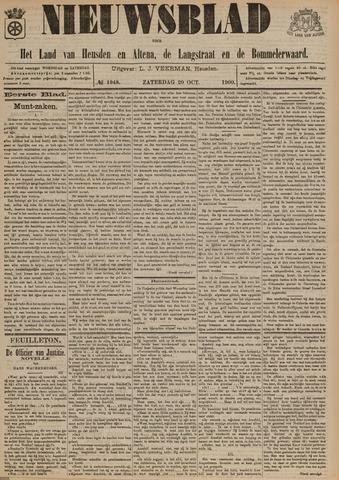 Nieuwsblad het land van Heusden en Altena de Langstraat en de Bommelerwaard 1900-10-20
