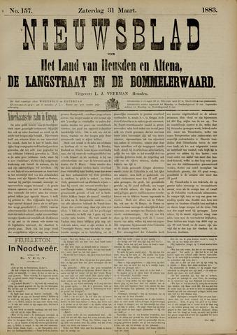 Nieuwsblad het land van Heusden en Altena de Langstraat en de Bommelerwaard 1883-03-31