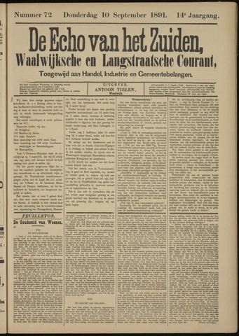 Echo van het Zuiden 1891-09-10