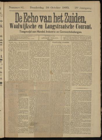 Echo van het Zuiden 1895-10-10