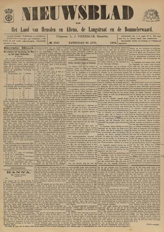 Nieuwsblad het land van Heusden en Altena de Langstraat en de Bommelerwaard 1904-08-20