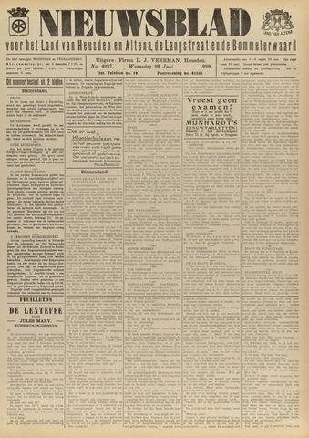 Nieuwsblad het land van Heusden en Altena de Langstraat en de Bommelerwaard 1929-06-26