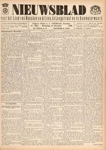 Nieuwsblad het land van Heusden en Altena de Langstraat en de Bommelerwaard 1925-11-18